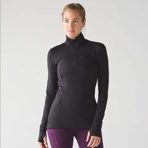 Lululemon First-mile half-zip sweater